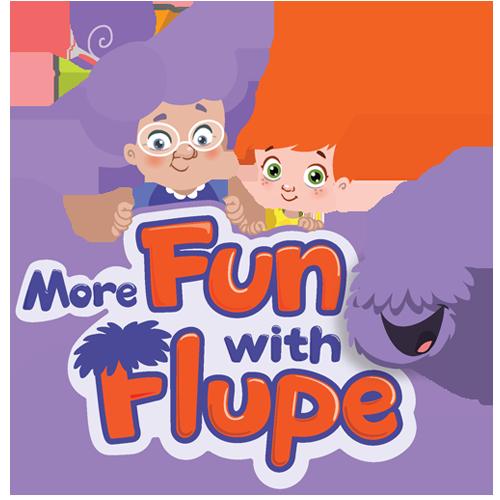 More Fun with Flupe สำหรับเด็ก อายุ 3 – 6 ปี